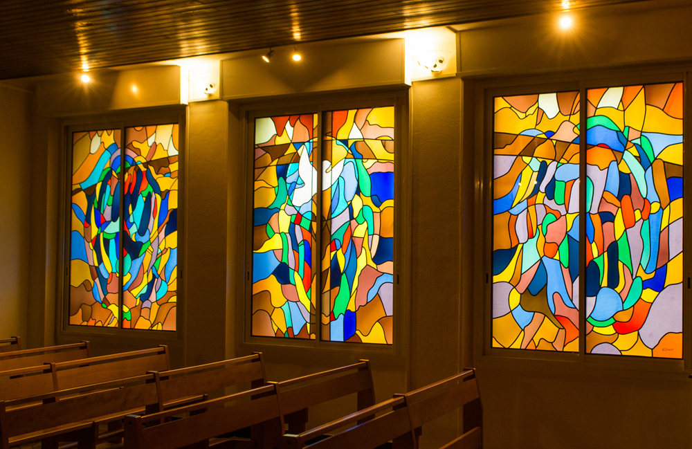 Stained glass windows creation