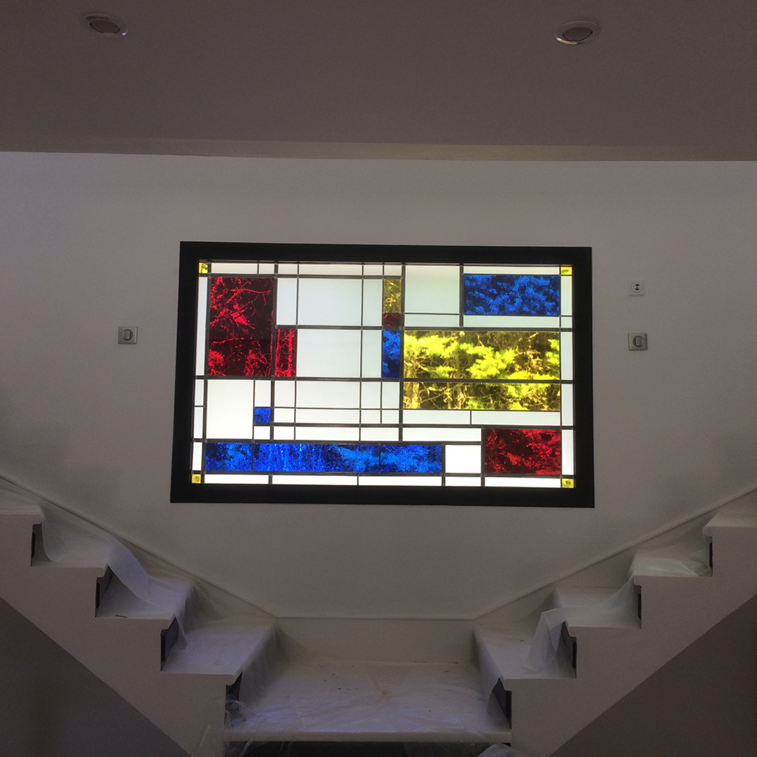 Stained glass windows decoration